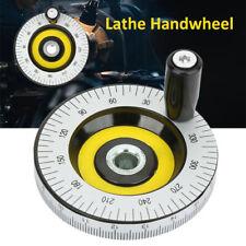 Lathe Handwheel Hand Crank Handwheel 80mm Revolving For Milling Machine