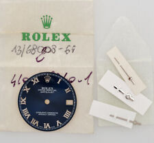 Rolex original blue dial for steel Datejust 31mm 78240 new old stock w/hands 229