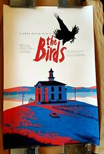 THE BIRDS by Paul Blow - Mondo Exclusive 24x36 Screen Art Print Poster #115/250