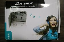 Cassette to MP3 converter, Dansrue  With Manual & Software