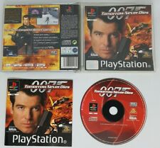 Playstation 1 Game 007 Tomorrow Never Dies With Instruction Manual Ps1
