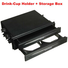 Car Interior Accessories Double Din Dash Radio Pocket Cup Holder Storage Box (Fits: Commercial Chassis)