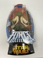 Star Wars Yoda Force Battlers Whirling Lightsaber Attack  from Hasbro 2005 NIP