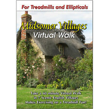 MIDSOMER VILLAGES TREADMILL WALK DVD SCENERY - VIDEO LOW IMPACT, FUN EXERCISE