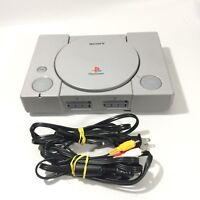 Sony Playstation 1 SCPH-5501 U1657482 Japan With Power Cable + Av Cord
