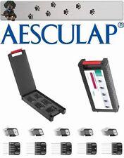 AESCULAP FAVORITA II Favorita CL acciaio inox TESTINA - Set 13 - 25 mm