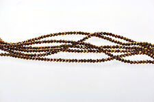Full Strand Crystal ROUND Beads BRONZE 3mm about 100 beads bgl0528