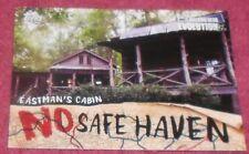 WALKING DEAD EVOLUTION - NO SAFE HAVEN - INSERT CARD # NSF- 9 - EASTMAN'S CABIN