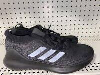 Adidas Purebounce+ M Mens Athletic Running Training Shoes Size 8.5 Black Gray