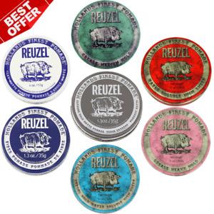 Reuzel Pomade Hair Lipstick 35 gr 1.23 oz, 113 gr 4 oz, 340 gr 12 oz