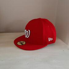 Washington Nationals 59FIFTY Fitted MLB Baseball Cap - size 7 1/4