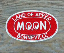 MOON BONNEVILLE JACKET PATCH RED HOT RAT ROD FORD 1932 BNI SCTA DRY LAKE RACING