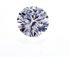 GIA Certified Natural Round Cut Loose Diamond 0.40 Ct E Color VVS1 Clarity