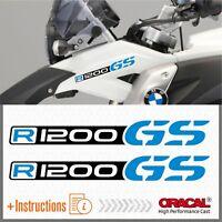 2x R1200 Black BMW Motorrad R 1200 GS 2013-2017 LC ADESIVI PEGATINA STICKERS AUTOCOLLANT AUFKLEBER 貼紙 VINIL r1200gs