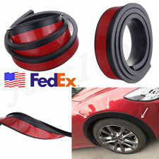 USA 55mm SUV Car Wheel Fender Extension Flares Arch Protector Rubber Moulding 2x