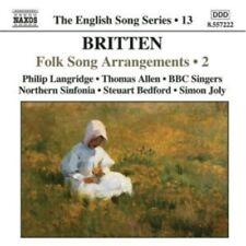 1-CD BRITTEN - FOLK SONGS ARRANGEMENTS 02 - BBC SINGERS / SIMON JOLY