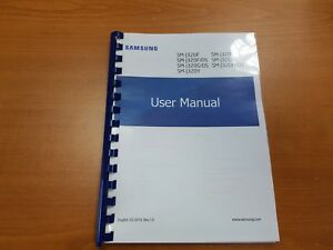 SAMSUNG GALAXY J3 J320FN (2016) PRINTED INSTRUCTION MANUAL GUIDE 91 PAGES A5