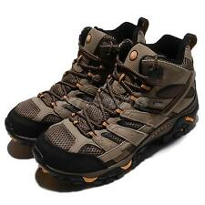Merrell Moab 2 Mid GTX Wide Gore-Tex Walnut Brown Men Outdoors Shoes J06057W