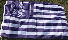 Duke Blue Devils Flag  Banner Large 3x5 Feet  College Fan Decor University
