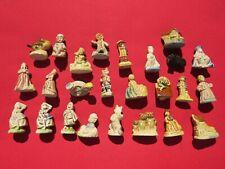 Wade Nursery Rhyme Figurines Complete set 24 pieces. Plus 1