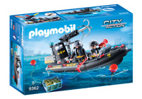 Playmobil 9362 - Tactical Unit Boat - NEW!!