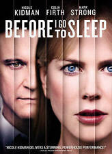 BEFORE I GO TO SLEEP The MOVIE on DVD of AMNESIA with NICOLE KIDMAN Colin Firth