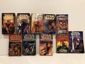 🌿 Various Vintage Star Wars Novels X 10