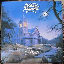 KING DIAMOND - THEM - VINYL LP HOLLAND 1988 EX/EX INSERT/BOOKLET INSIDE