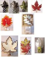 Bath & Body Works Wallflower Diffuser Fall Leaf Tree Fern *some are night lights
