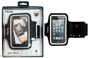 New Original iHome Sport Sleeve for All iPhone 4S 5 5S 5C SE iPodTouch IH-5P141B