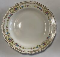 "4 - VINTAGE Mount Clemens Pottery MILDRED PATTERN 10"" Dinner Plates"