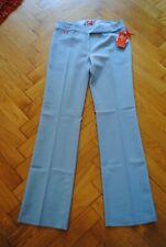 Hose Miss Sixty Basic Roxy hellblau W31 gerades Bein Business elegant schlicht
