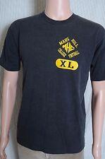 Vintage '80s Mars Hill College Football faded black t shirt M