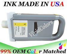 Adaptable ink Cartridge fit canon PFI-703 Yellow Y DYE Ink iPF 810 815 820 825