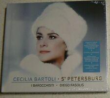 ST PETERSBURG - BARTOLI CECILIA (CD Livre - Edition deluxe)  NEUF SCELLE