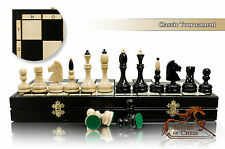 Gorgeous CLASSIC TOURNAMENT 50 cm / 25 in Large Wooden Chess Set
