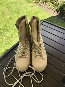 British Army Meindl Air Active Desert Boots Uk 13 Worn Once