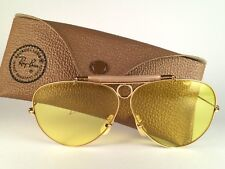 NEW VINTAGE RAY BAN SHOOTER KALICHROME 62MM B&L USA SUNGLASSES