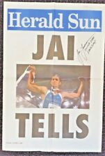 """JAI TAURIMA 2000 OLYMPIC MEDAL HUGE 23.5"""" X 16"""" COMMEMORATIVE POSTER SIGNED"""