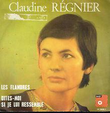 """45T 7"""": Claudine Régnier: les flandres. BASF. A13"""
