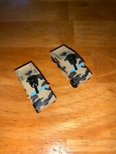 MICRO MACHINES SMART TOYS MILITARY FORCE Hummer Desert Camo 1998 - Lot of 2