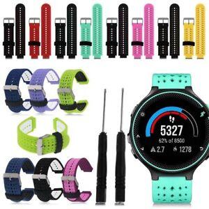 For Garmin Forerunner 230 235 630 735XT Silicone Strap Watch Wrist Band Bracelet