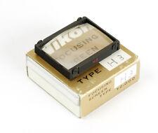 Boxed Nikon F Focusing Screen / Einstellscheibe Typ H3 Type H3