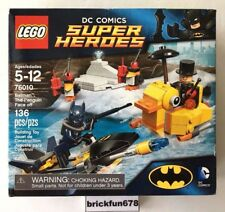Lego Superheroes 76010 Batman the Penguin Face Off New In Factory Sealed Box