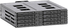 "5.25"" to (8x2.5"" SAS/SATA/SSD 6.0G HDD)(Mobile Rack)(Hot-Swap Cage)Backplane NEW"