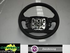 FORD TERRITORY STEERING WHEEL LEATHER, CRUISE CONTROL TYPE, SZ, 05/11- 11 12 13