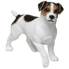 Leonardo Collection Jack Russell Terrier Ornament Dog Stone White 13 X 4 X...