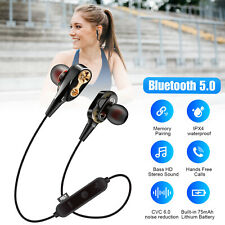 Bluetooth Earphones Wireless Headphones Earbuds For iPhone Android High Bass