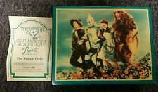 The Wizard of Oz THE POPPY FIELD musical jewelry box 1988
