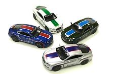 """Set of 4 Kinsmart Diecast Car 5"""" 2012 BENTLEY CONTINENTAL GT SPEED WITH PRINT"""